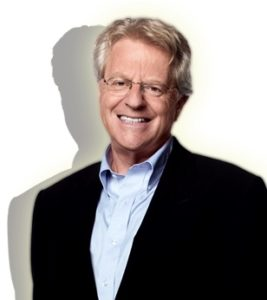"""Life's Tough – Jerry Springer is Tougher, confronting critics with humility and becoming one of the most """"talked-about"""" hosts of our time."""