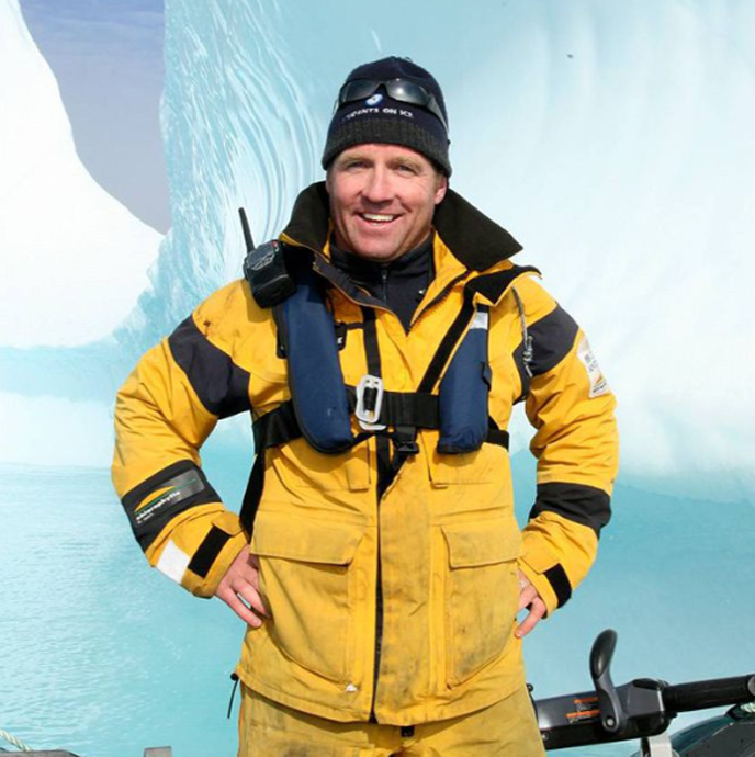 Geoff Green Uses Trips to the Polar Region to Teach About Environmental Science
